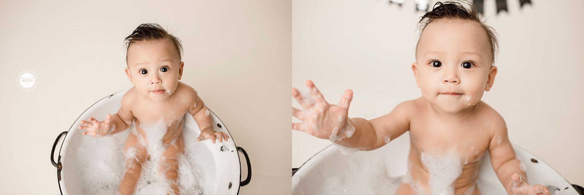 Post Smash bubble bath
